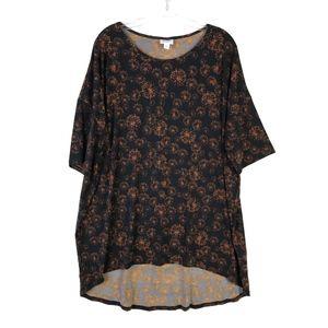 LuLaRoe Irma Dandelion Tunic Tee Shirt #1295